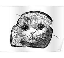 Bread Cat Poster