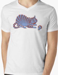 Schroedinger's hairball Mens V-Neck T-Shirt