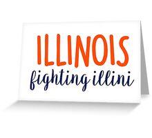 University of Illinois Greeting Card