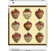 Delicious Chocolate Covered Strawberry Box iPad Case/Skin