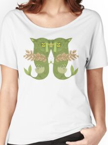 Mutant Catfish Twins Collecting Starfish Women's Relaxed Fit T-Shirt