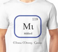 Mithril Chemical Symbol  Unisex T-Shirt