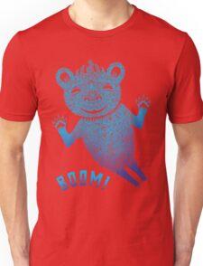 Turquoise Bear Goes Boom T-Shirt