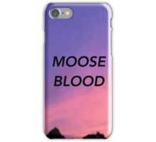 Moose Blood iPhone Case/Skin