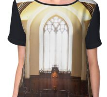 Harbison Chapel, Grove City College Chiffon Top