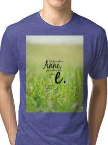 Anne with an E Tri-blend T-Shirt