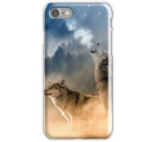 howling at iPhone Case/Skin