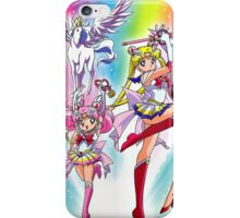 Pegasus & Inner Senshi iPhone Case/Skin