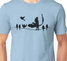 Dinosaurs: Past and Present Unisex T-Shirt