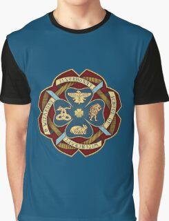 Ilvermorny School Crest (Color) Graphic T-Shirt