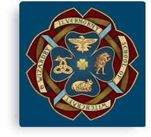 Ilvermorny School Crest (Color) Canvas Print