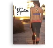 Be Your Own Fitspiration Metal Print
