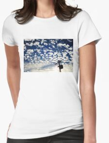 Sky Canvas II Womens Fitted T-Shirt