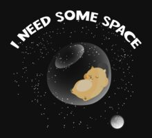 Hamster I Need Some Space Kids Tee