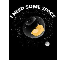 Hamster I Need Some Space Photographic Print