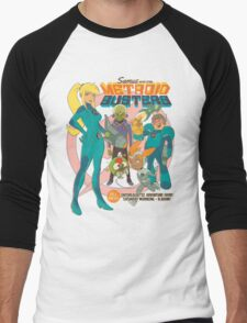 Samus and the Metroid Busters Men's Baseball ¾ T-Shirt