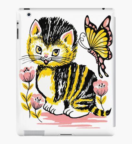 bush kitten iPad Case/Skin