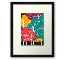 Happy Forest Framed Print
