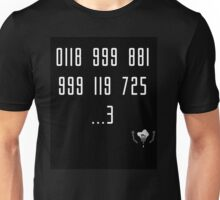 Police Number from the IT Crowd Unisex T-Shirt