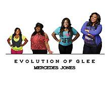 Evolution of Glee || Mercedes Jones by linked-pinkies