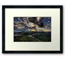 Hot Springs Arkansas Framed Print