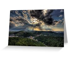 Hot Springs Arkansas Greeting Card