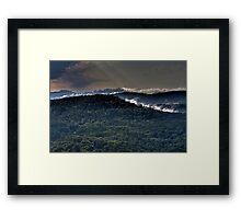 Mountin Mist Framed Print