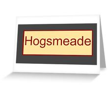 Hogsmeade Greeting Card