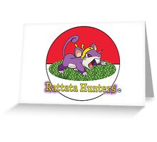 Rattata Hunters Greeting Card