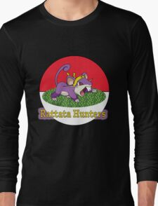 Rattata Hunters Long Sleeve T-Shirt