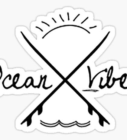 Ocean Vibes  Sticker