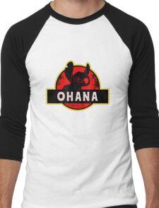 ohana Men's Baseball ¾ T-Shirt