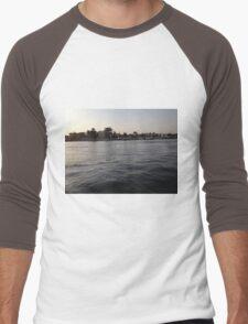 Nile River Egypt Cruise Boat Aswan 2 Men's Baseball ¾ T-Shirt