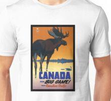 Vintage Canada Wildlife Travel Unisex T-Shirt