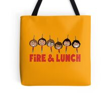 Fire and Lunch Tote Bag
