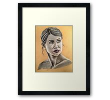 Woman are Powerful Framed Print