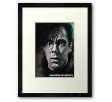 Khan into darkness Framed Print