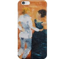 Death and the Maiden VII iPhone Case/Skin