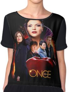 OUAT Season 6 Poster Chiffon Top