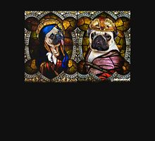 Stained Glass Pugs Unisex T-Shirt