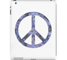 Peace Sign Flowers iPad Case/Skin