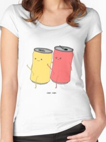 can can Women's Fitted Scoop T-Shirt