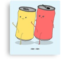 can can Canvas Print