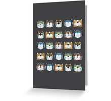 Voltron! Yeah! Greeting Card