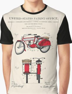 Motorcycle Sidecar Patent 1912 Graphic T-Shirt