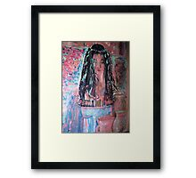Queen In Solomans Temple Framed Print