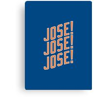 Jose Reyes #7 - New York Mets Canvas Print