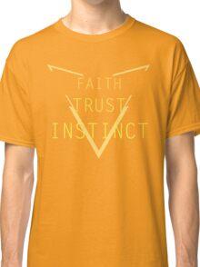 Faith Trust Instinct - Pokemon GO Classic T-Shirt