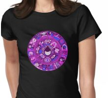 The Drop in Purple and Blue Womens Fitted T-Shirt