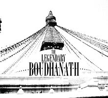 The Legendary Boudhanath by LegendaryTravel